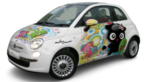 Avtografika in Car Wrapping